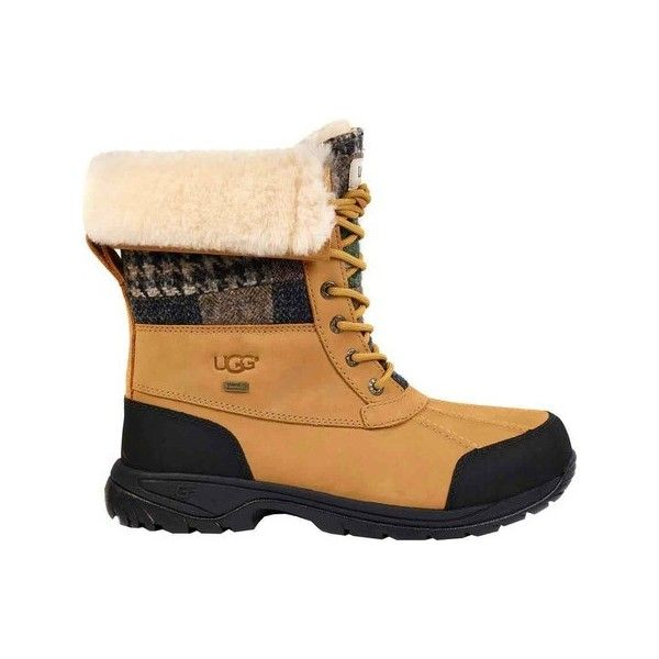 f64324bb117 Men's UGG Butte Patchwork Snow Boot - Wheat Casual (£220) ❤ liked ...