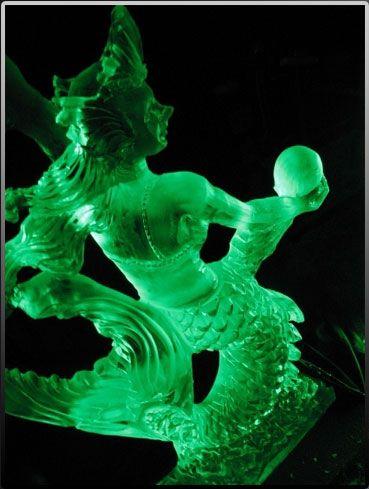 Mermaid By Ice Sculptures Unlimited In Atlanta