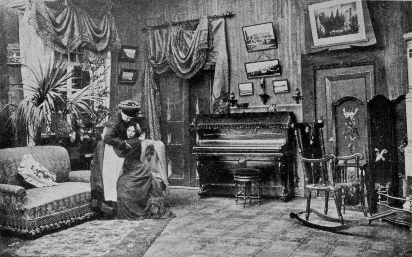 what the inside of a house would look like in 1879 a doll s world premiere a doll s house scene nurse