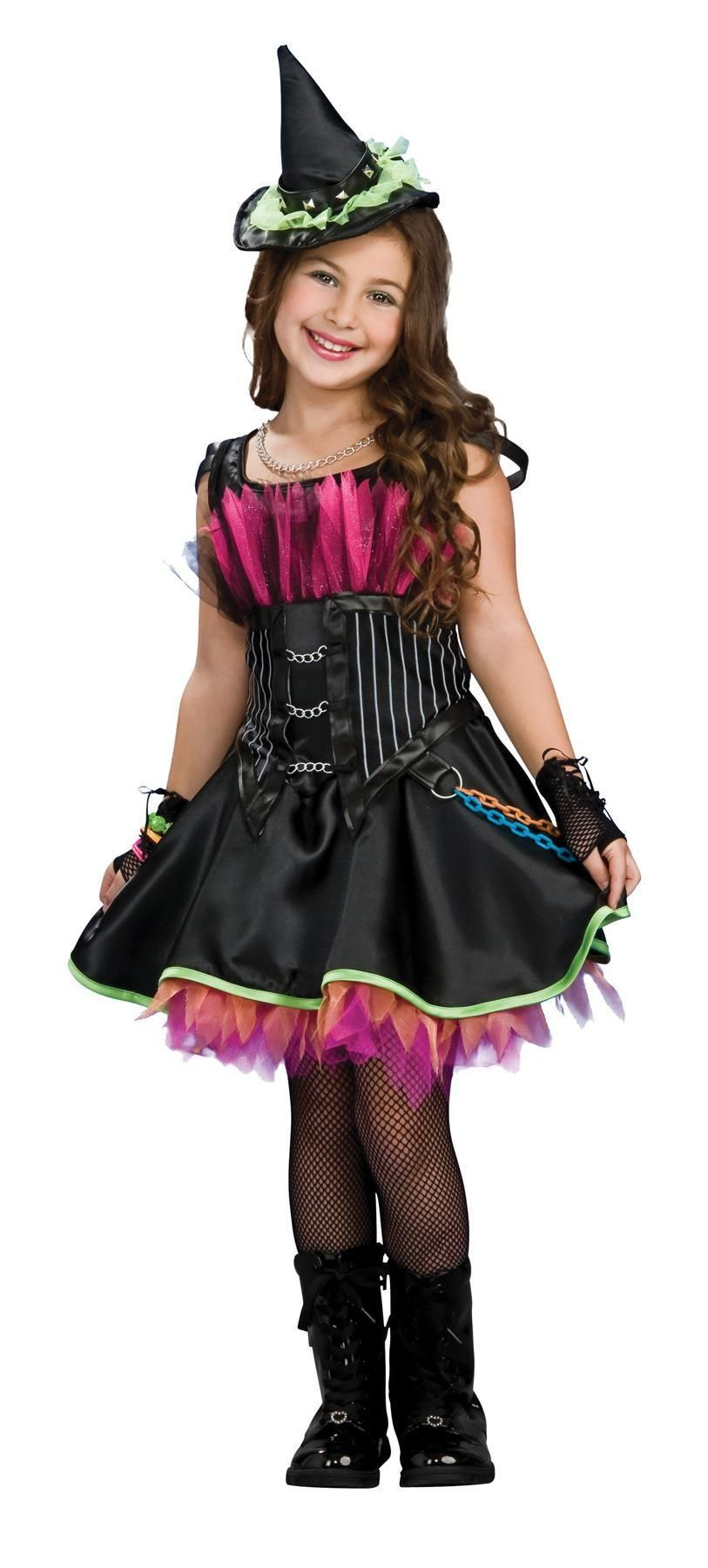 Rockin' Out Witch Child Large Halloween costumes for