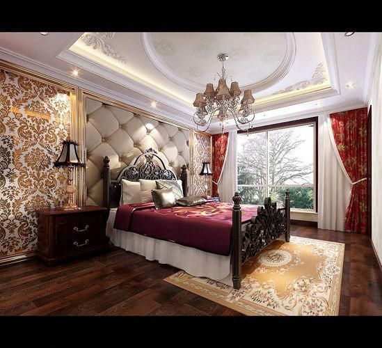 Best Stylish European Bedroom 3D Model Max 2 Europeanhomedecor 400 x 300