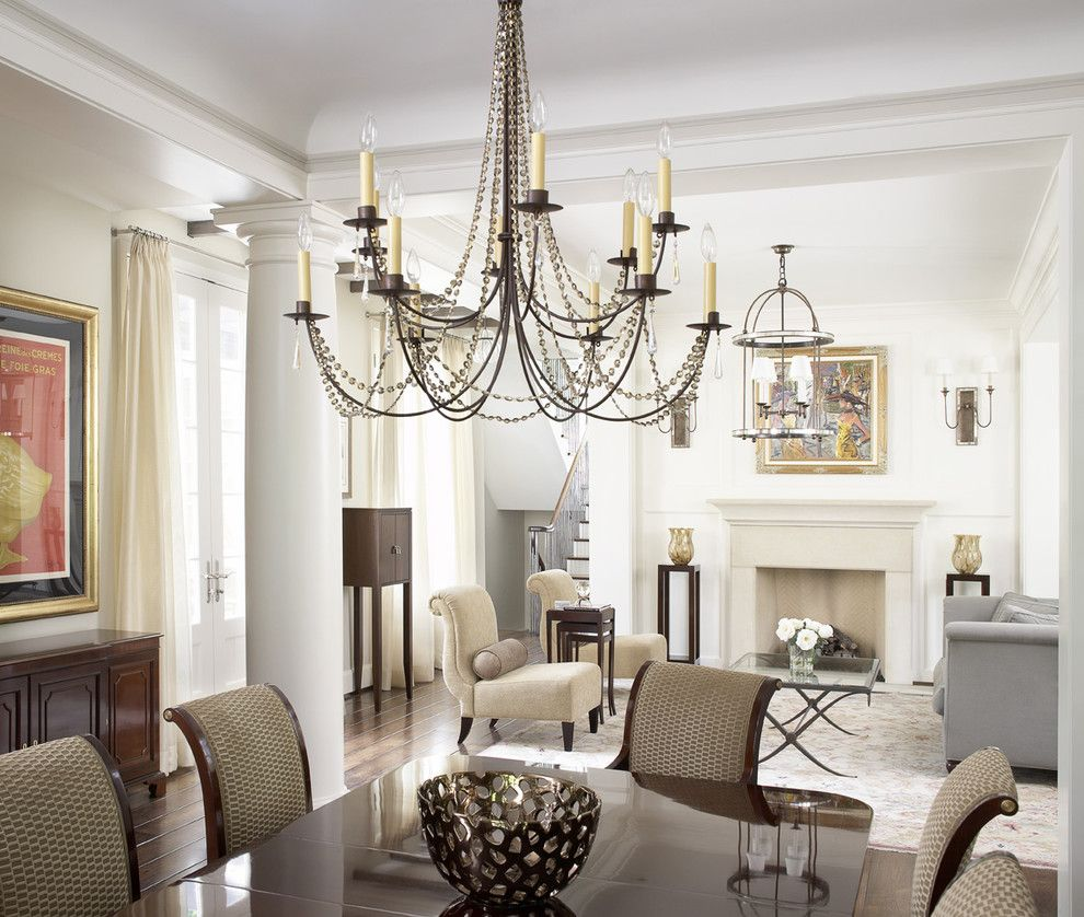 Dining Room Chandeliers Traditional Interesting Magnificent Wine Barrel Chandelier Look Atlanta Transitional Decorating Inspiration