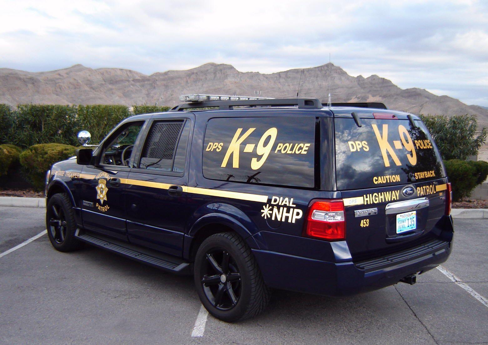 NHP K9 Unit Police cars, Police truck, Police patrol