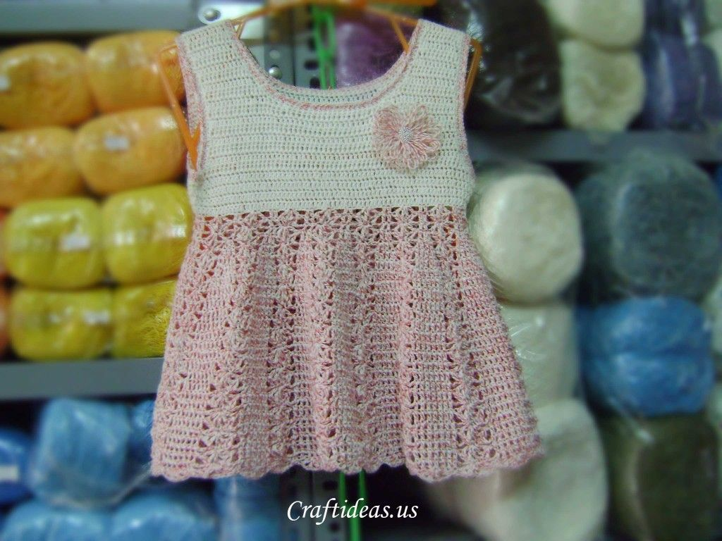 c3e99ca748a Crochet Patterns Galore - Crochet summer dress for kids