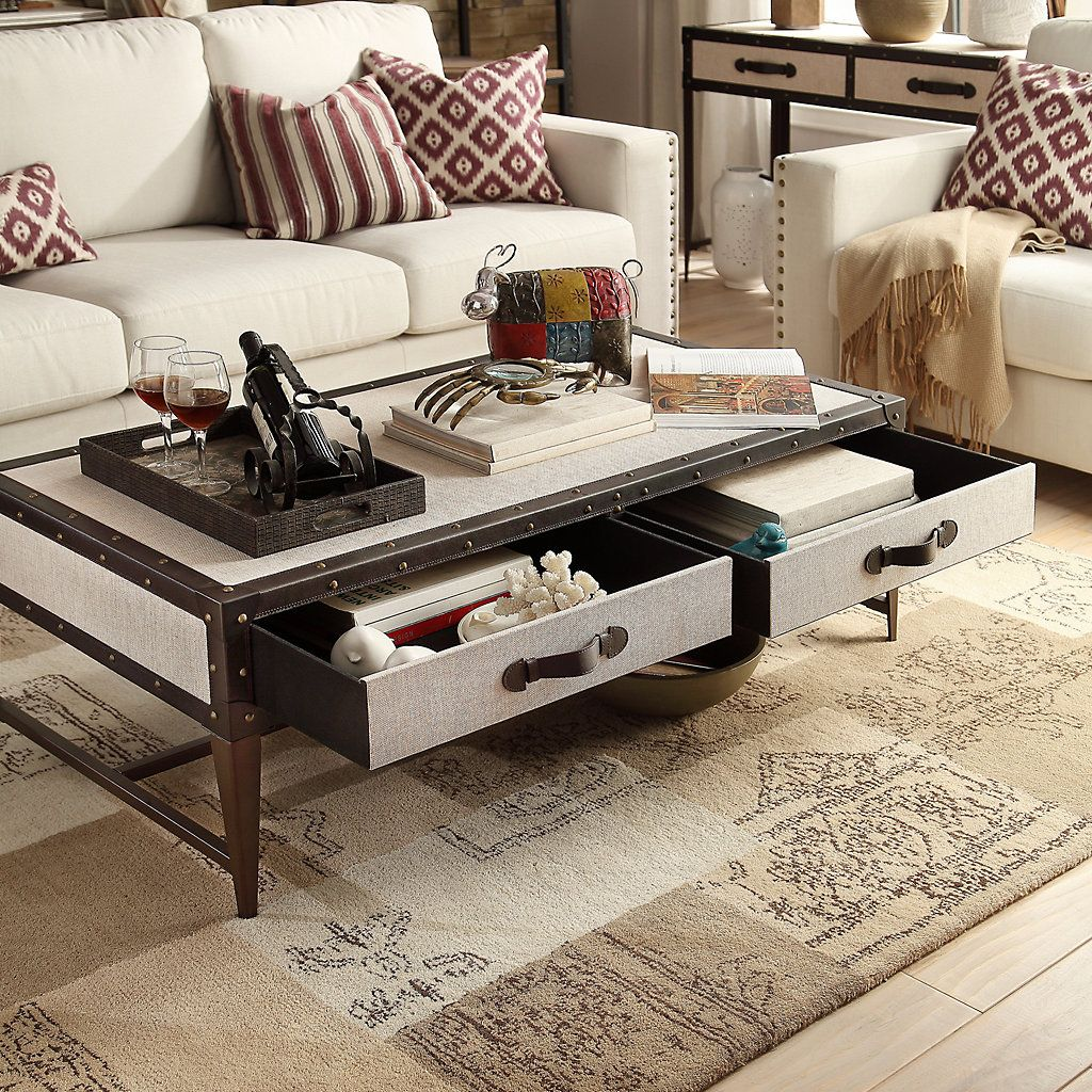 37+ Trunk style coffee table set trends