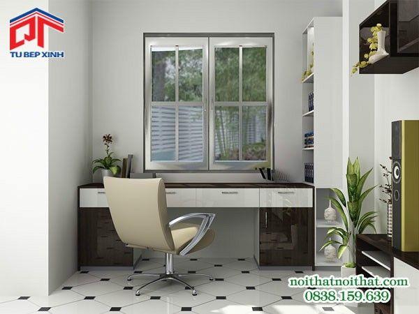 Phòng ngủ đẹp thiết kế kiểu dáng đơn giản, nhẹ nhàng PN-01
