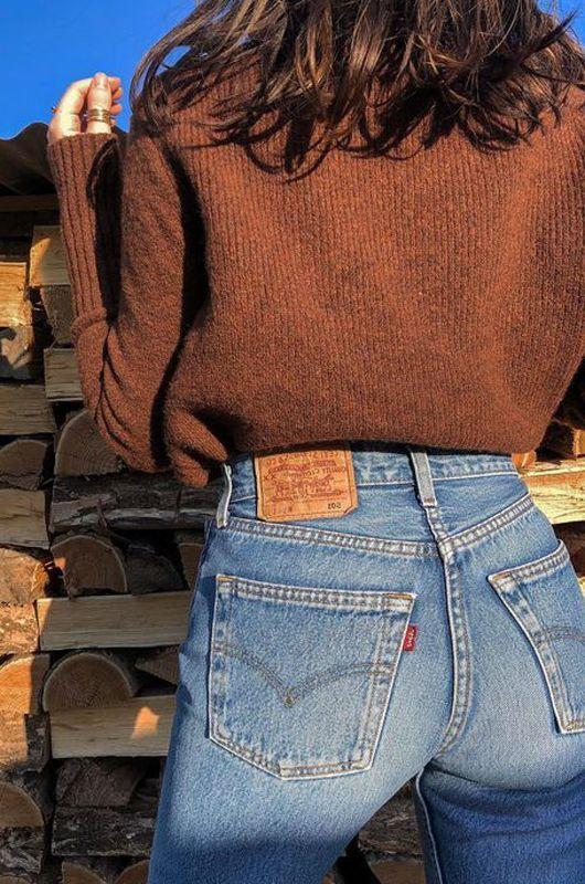Jeans Vintage Levis 501 Original Azul Indigo Cintura Media Alta Talla 30 Bichovintage Tienda Online En 2020 Ropa Vintage Pantalones Vintage Outfits Con Vaqueros