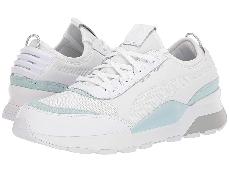Puma Rs 0 Core Men S Shoes Puma White Light Sky Puma Shoes Mens