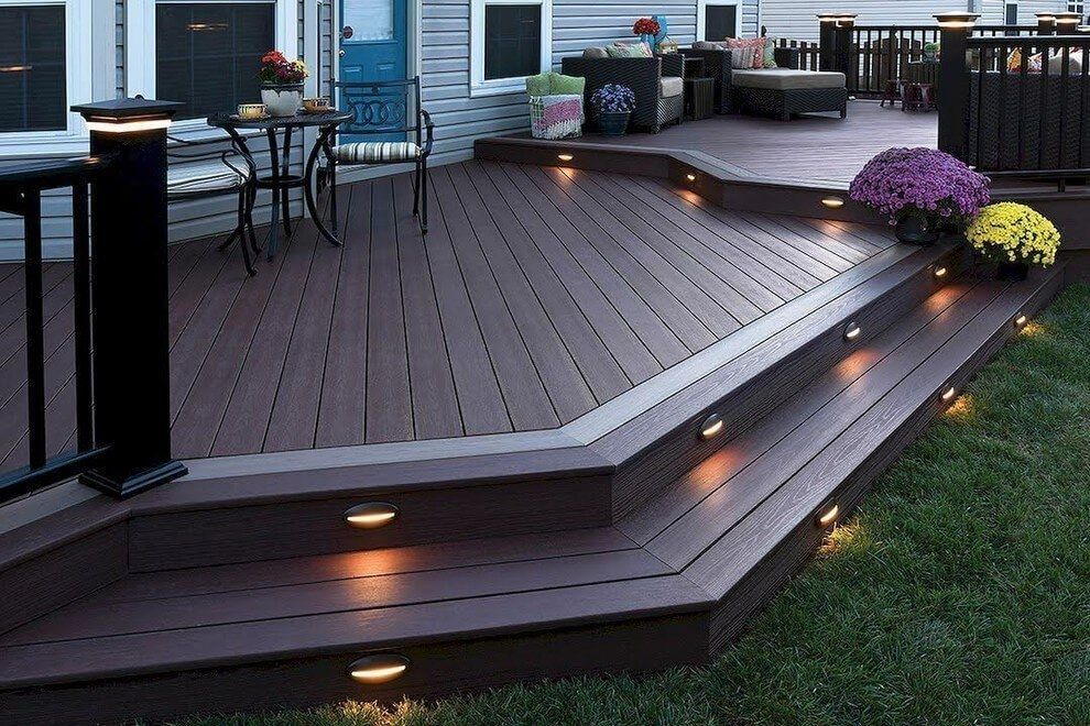 15 Awesome Deck Lighting Ideas To