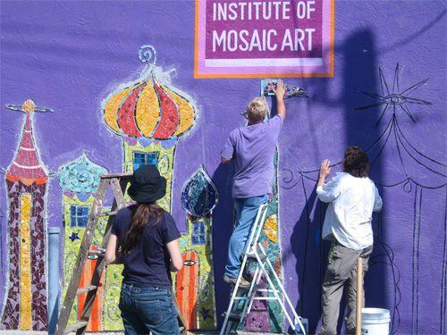 Institute of Mosaic Art building mural | por Institute of Mosaic Art