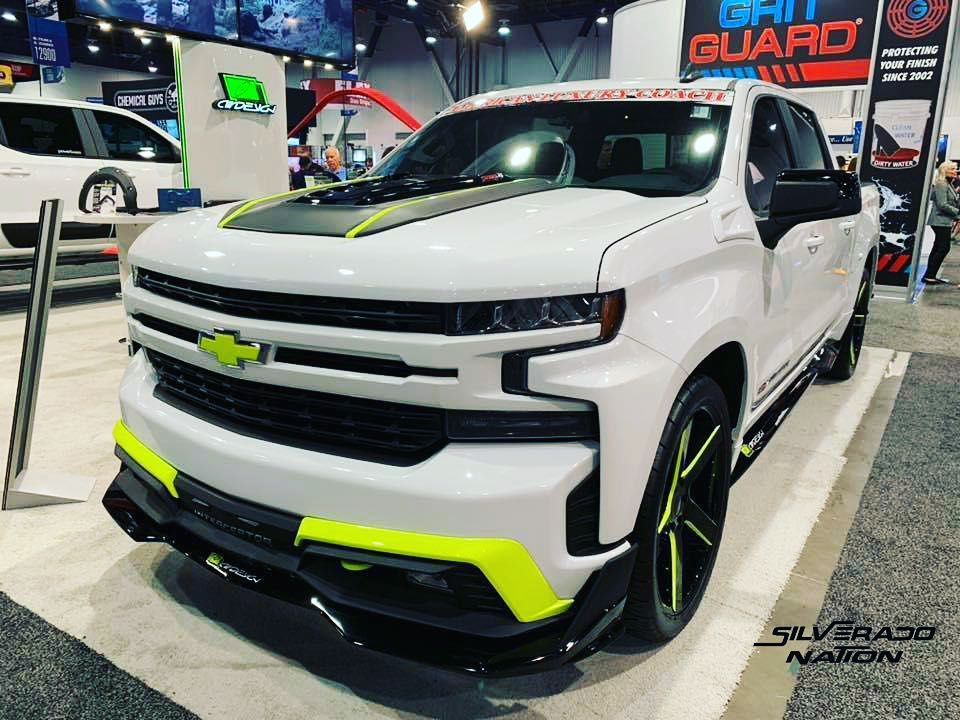 Air Design Silverado Sema Chevy Trucks Silverado Chevy
