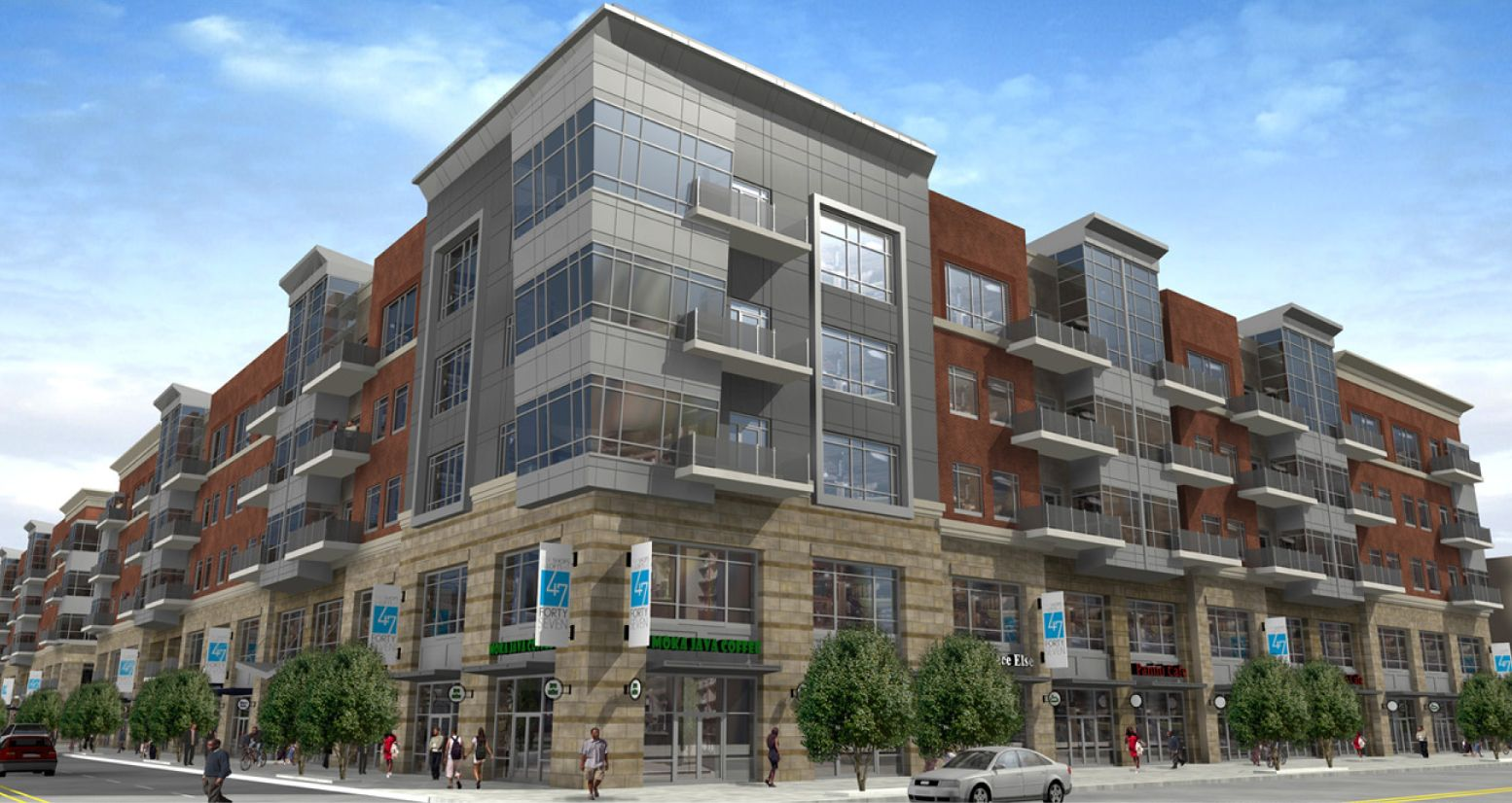 Large Mixed Use Developments With Apartments Mixed Use