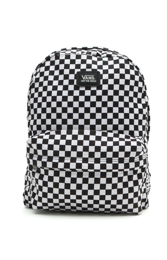 Old Skool II Checkered Backpack  2ddd7ab3ae02c
