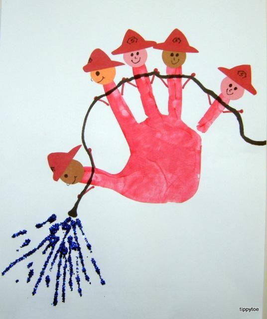 kids-craft-idea-firefighters-handprint