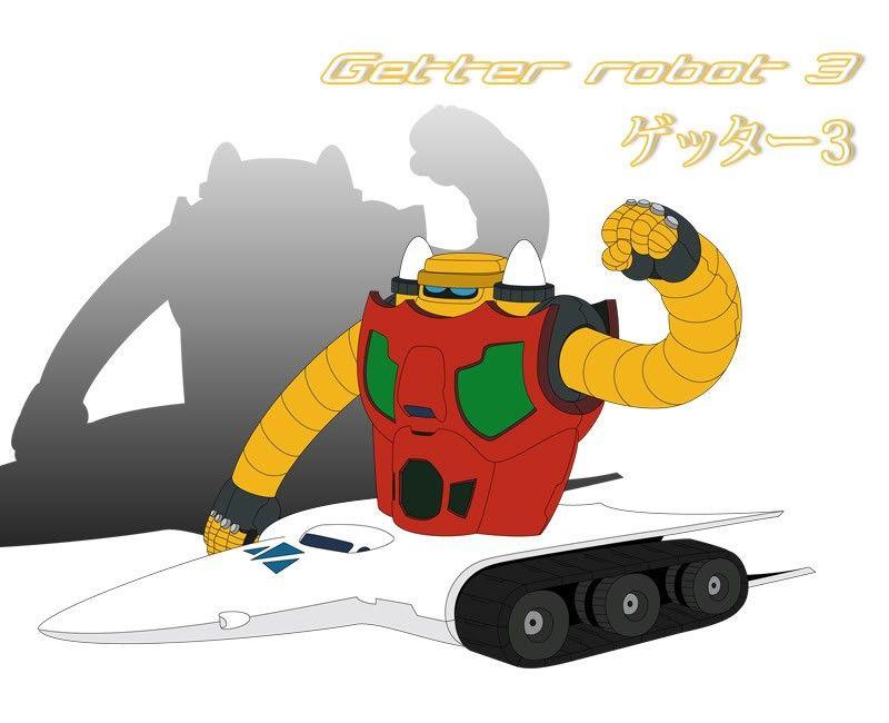 Getter Robot 3