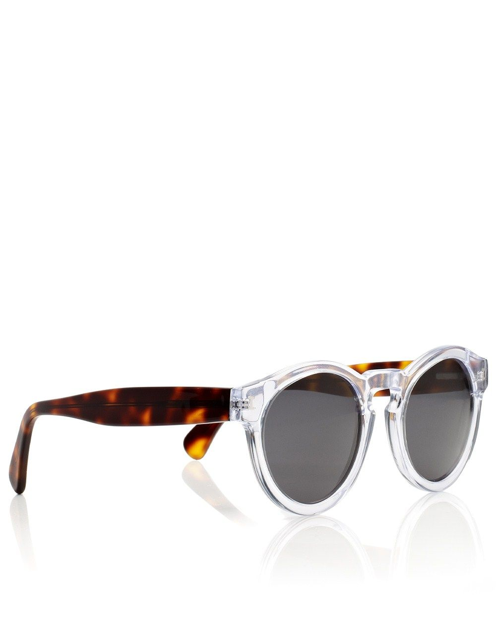 Clear Leonard Sunglasses | Illesteva | Avenue32
