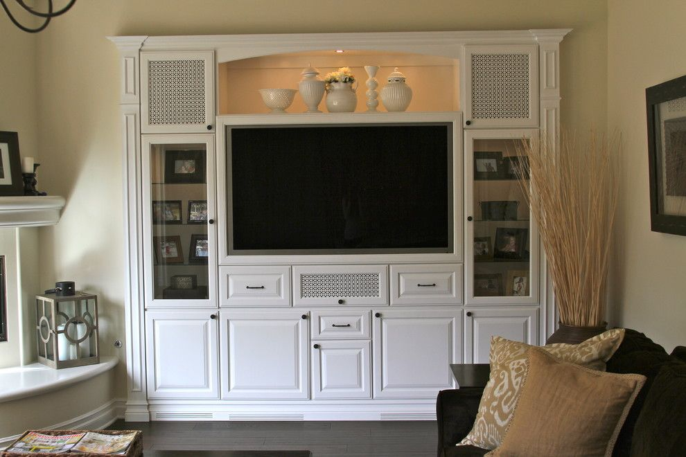 Family Room Wall Cabinet Designs Design Ideas With Accent