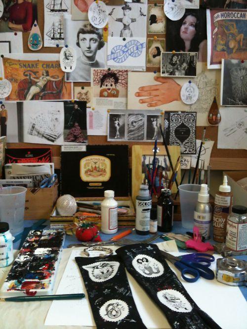 #EllenGreen artist #moodboard #tattoo #art