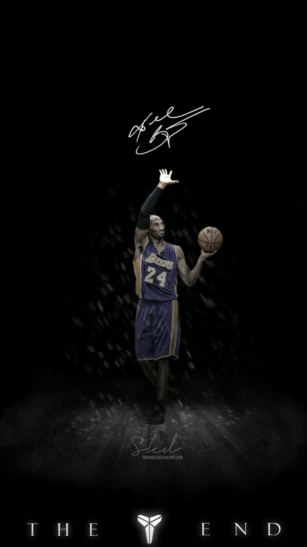 The End Kobe Bryant Wallpaper Kobe Bryant Pictures Kobe Bryant