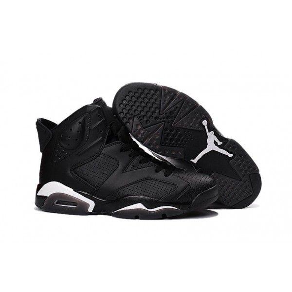"af180d799efd 2017 Air Jordan 6 ""Black Cat"" Black Black-White Christmas Deals PZhmtT"
