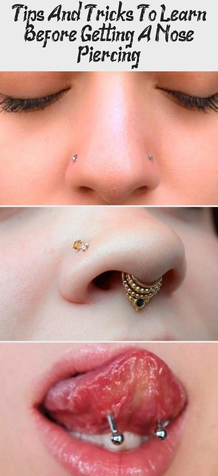Tips And Tricks To Learn Before Getting A Nose Piercing Piercing