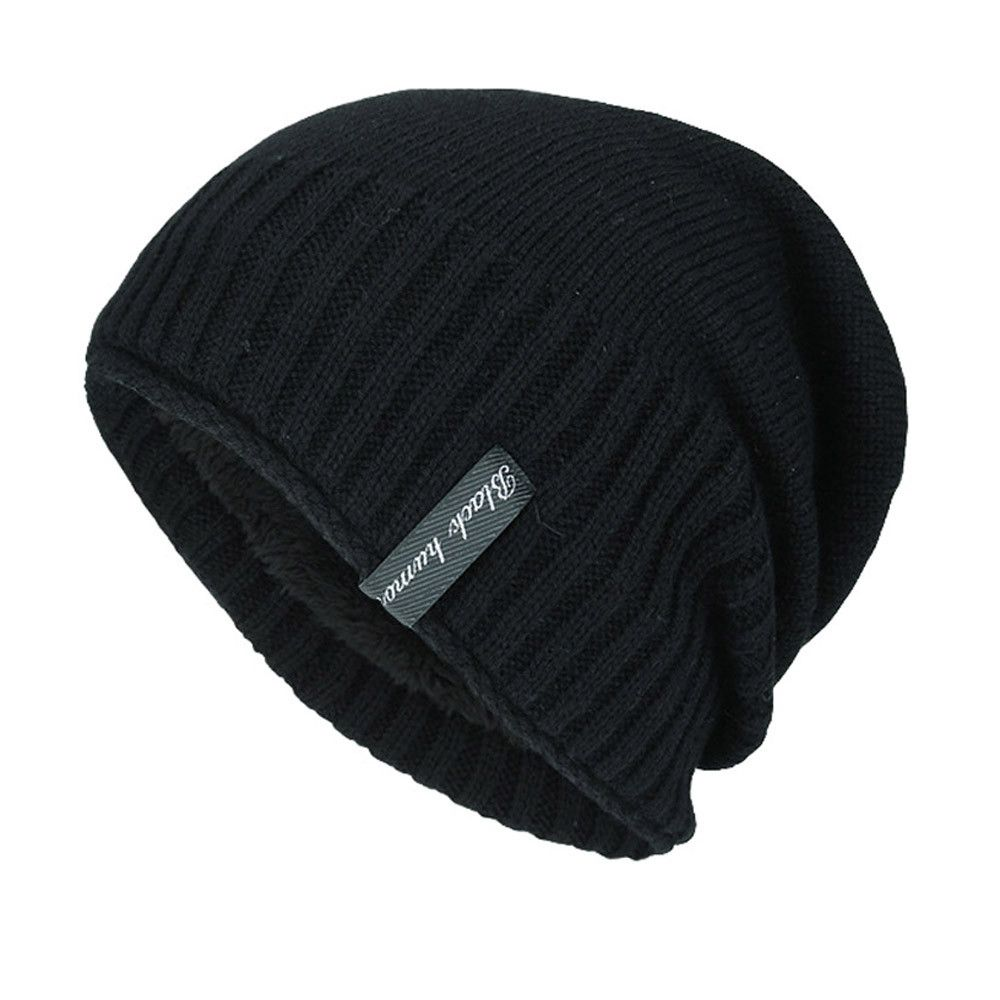 0421d64ec351be Beanies For Men Wool Hat Knitted Winter Hat Men Skullies Male Cap Winter  Keep Warm Cappello #800-in Skullies & Beanies from Apparel Accessories on  ...