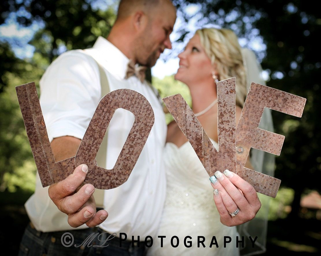 Wedding Photography Props: Pre Wedding.photoshoot.props Letters