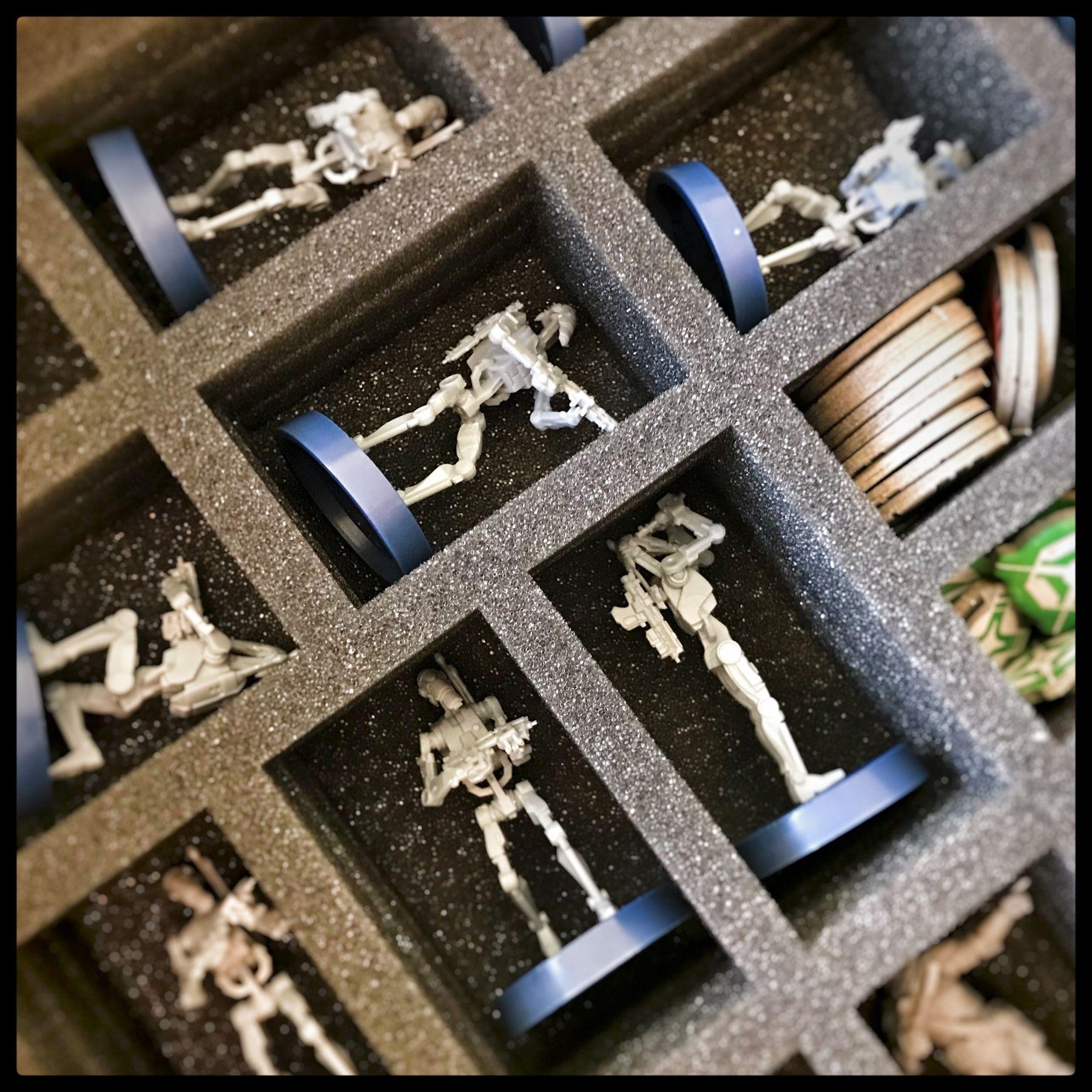 Foam Set For Star Wars Legion Clone Wars Core Box Brettspiele