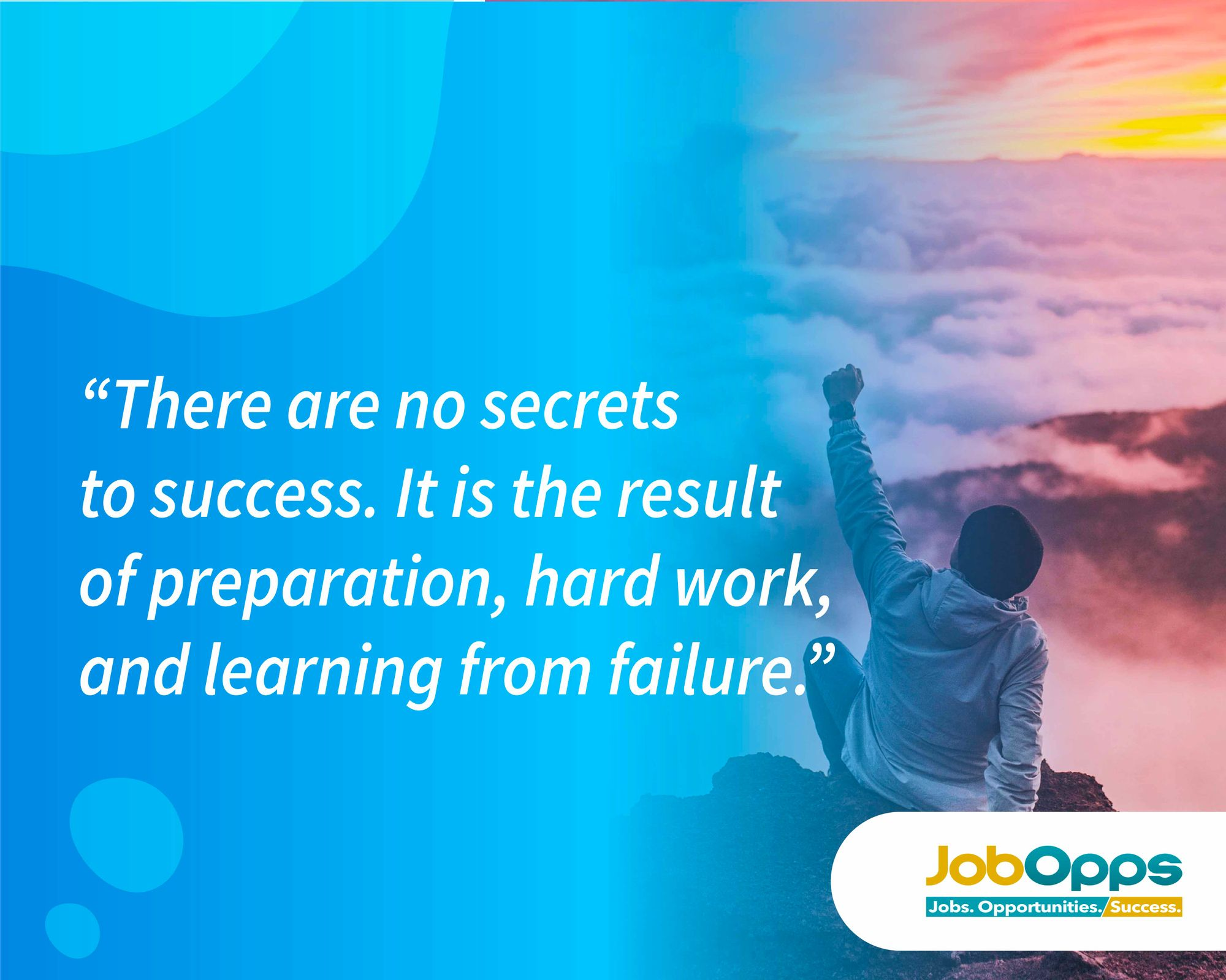 It's CHOOSEDAY! Choose to learn from your failures