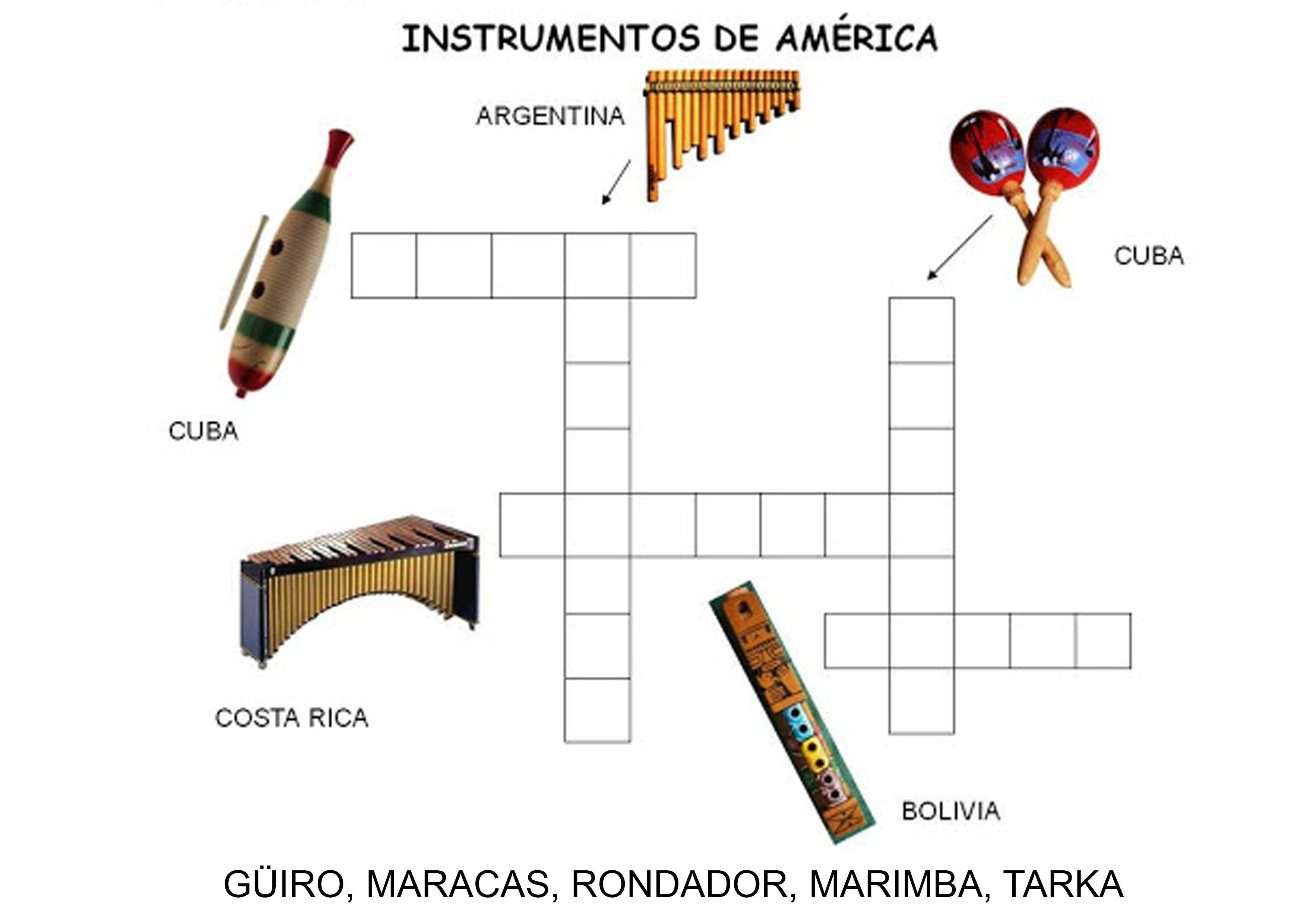 Instrumentos Tipicos De America Con Imagenes