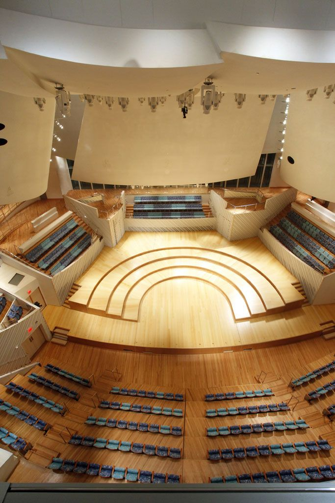New World Symphony And Miami Beach Soundscape Buildipedia Concert Hall Architecture Concert Hall Indoor Pool Design