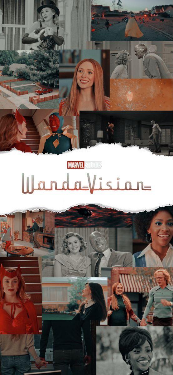 wandavision lockscreen / wallpaper