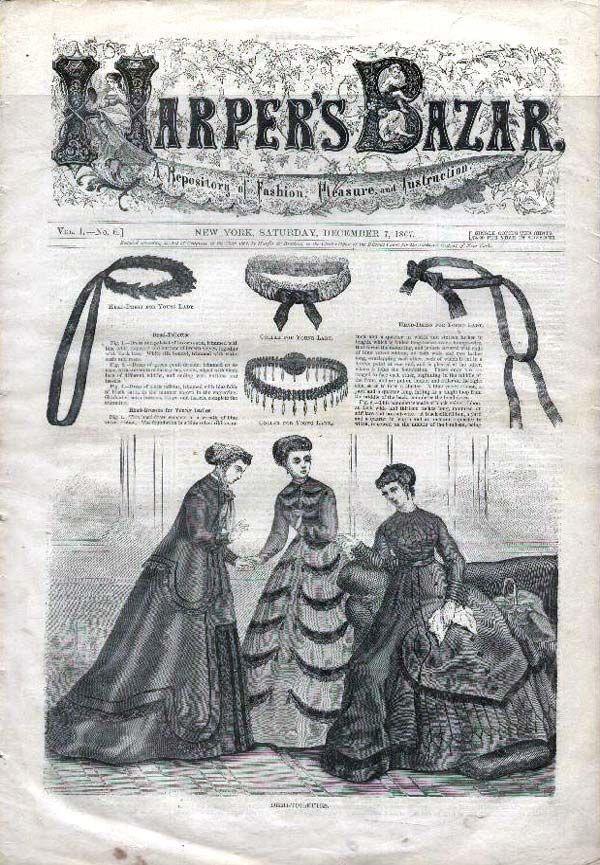 1867 Harper's Bazar (wow!)
