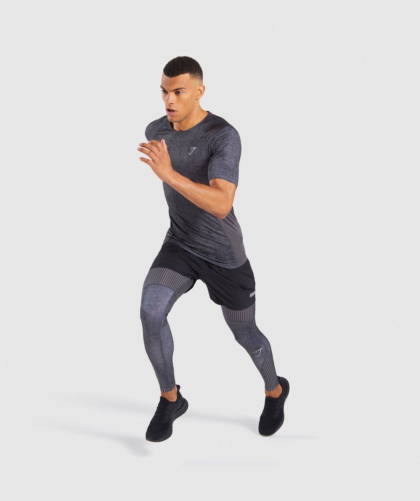 d63df4835 Gymshark Hybrid Baselayer Top - Charcoal Marl in 2019 | Himmat.Life ...