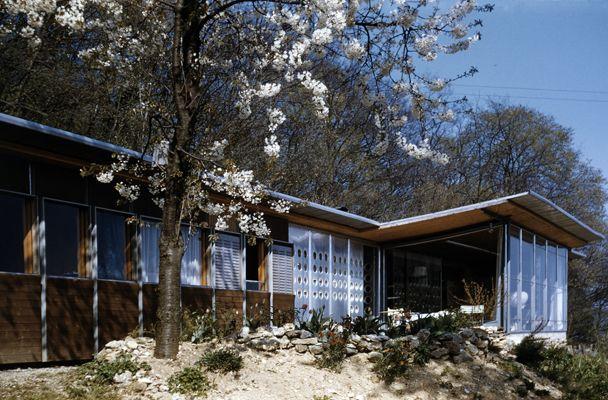 prouve house nancy google search arqitektur architecture design et house. Black Bedroom Furniture Sets. Home Design Ideas