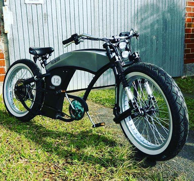 kustom custom basman tuning electric bicycles. Black Bedroom Furniture Sets. Home Design Ideas