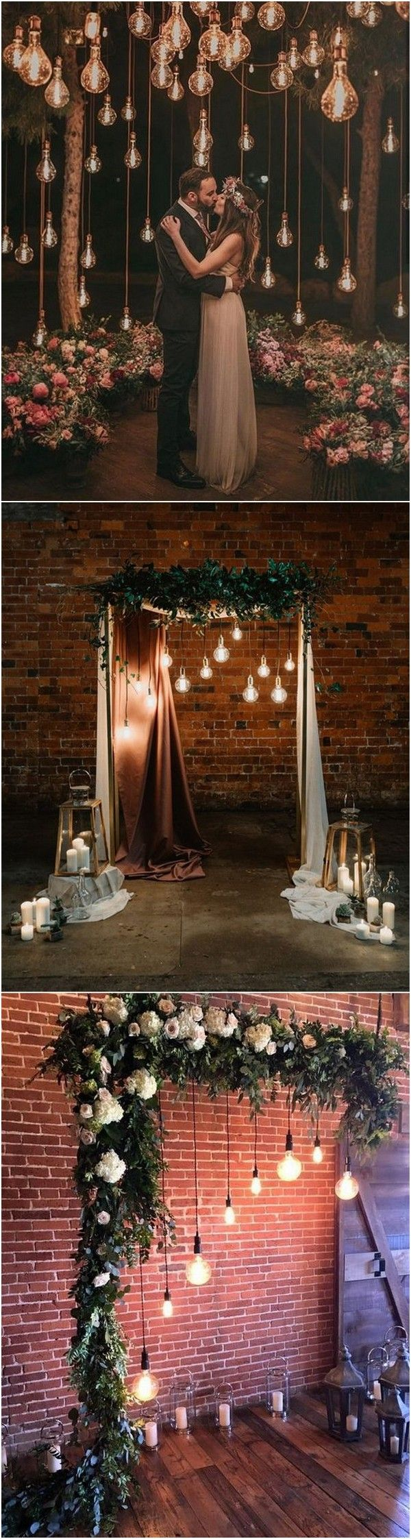 25 Trending Wedding Lighting Ideas with Edison Bulbs - Page 2 of 2 #weddingreception