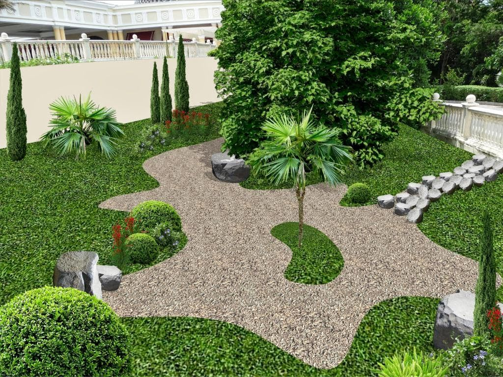 Pin by arq viviana pica on dise o jardines y patios for Disenos de jardines exteriores pequenos