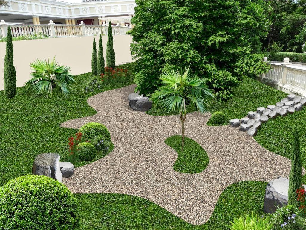 Pin de arq viviana pica en dise o jardines y patios for Disenos jardines pequenos modernos
