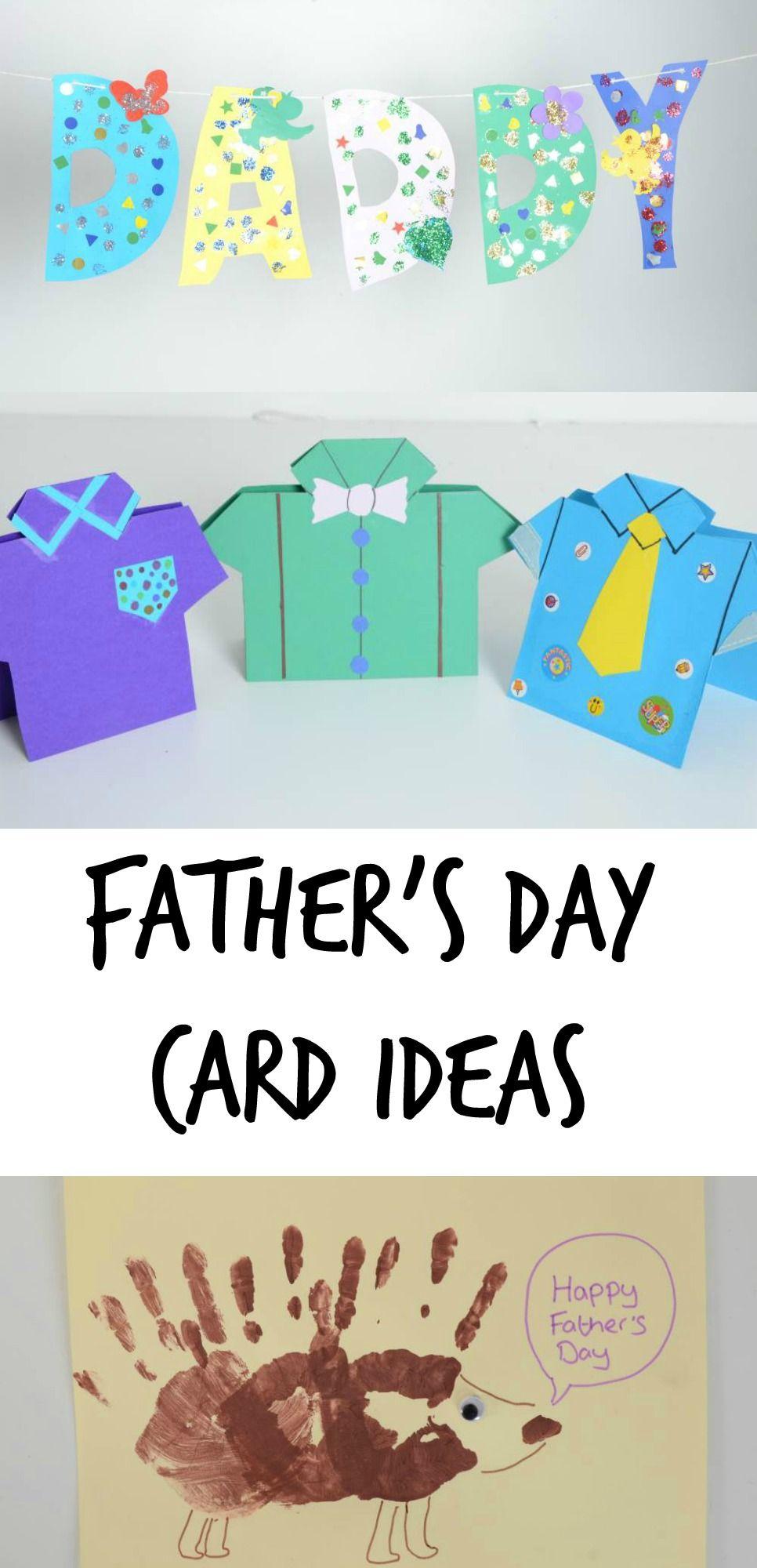 Fathers day card ideas learningisfun earlyyears cards