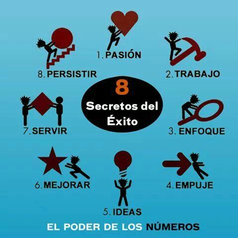 8 secretos del éxito #prixline #Trabajar