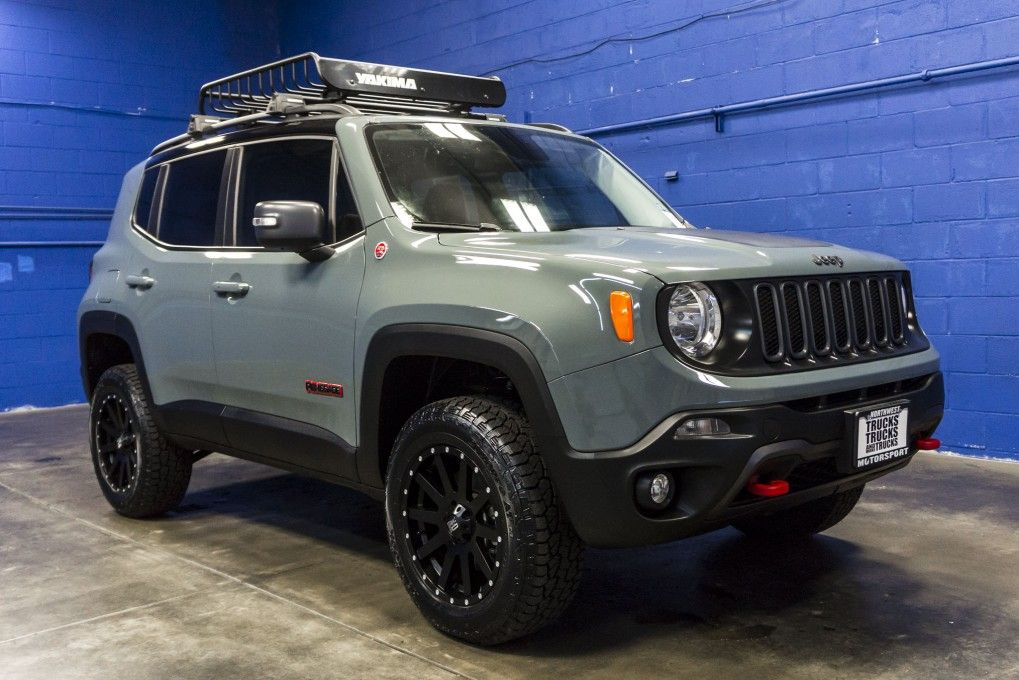 Modified And Lifted Jeep Renegade Jeep Renegade Jeep Trailhawk