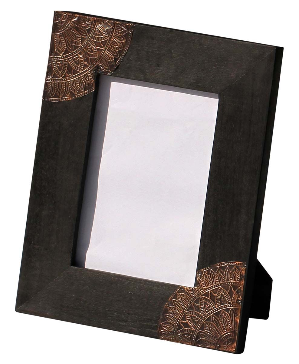 5x7 Inches Black Picture Frame in Bulk– Wholesale Handmade Mango ...