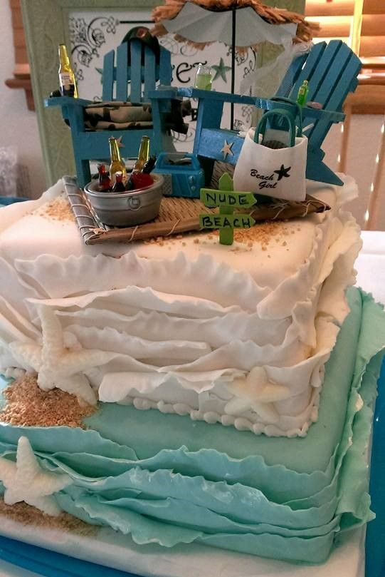 The cake topper chairs/accessories on our wedding cake.  Loved the look.