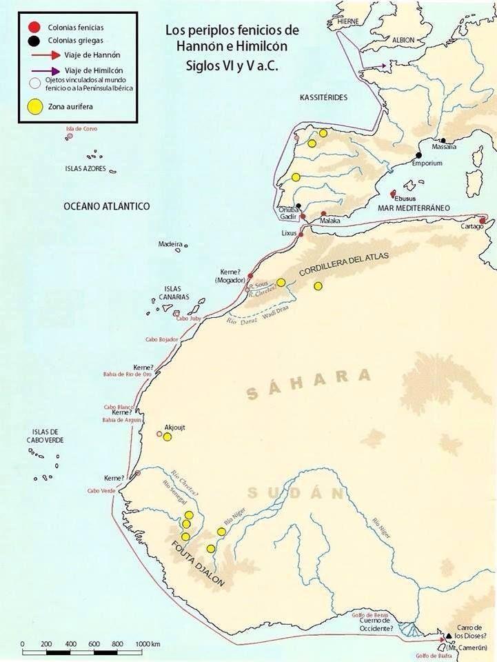 Hanno the Navigator was a Carthaginian explorer c. 500 BC, best