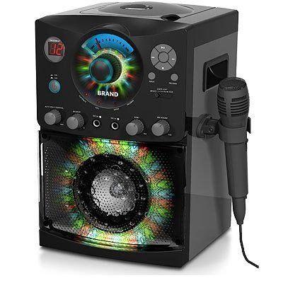 singing machine sml 385 top loading cdg karaoke system with sound and disco light show black. Black Bedroom Furniture Sets. Home Design Ideas