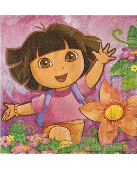 Doras Flower Adventure Lunch Napkins 16