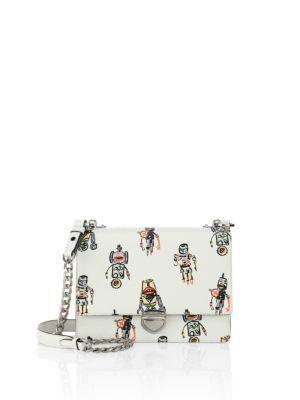 a98605e35012 PRADA Robot Saffiano Leather Chain Crossbody Bag. #prada #bags #shoulder  bags #leather #crossbody #lining #