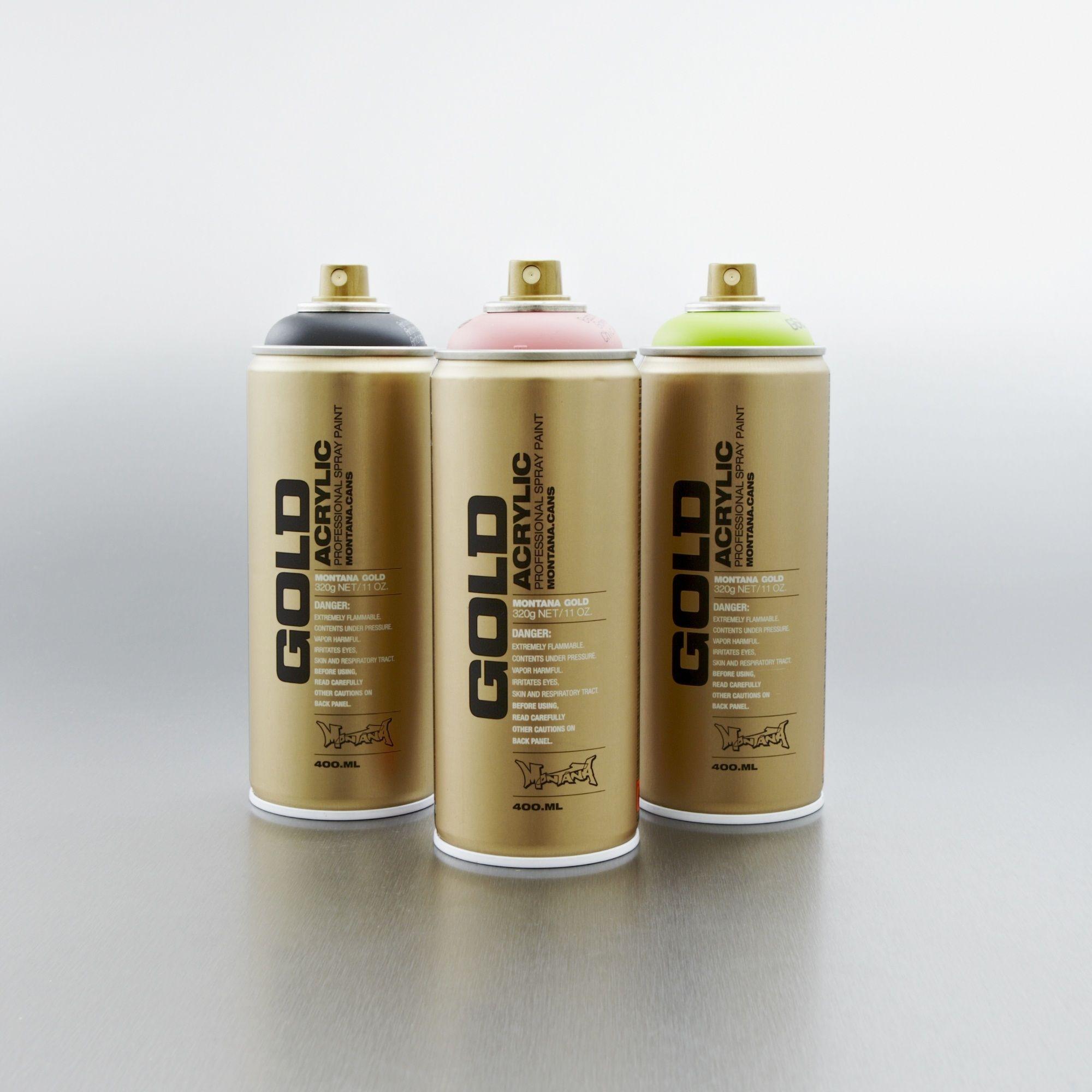 Montana Gold Spray Paint 400ml Arte