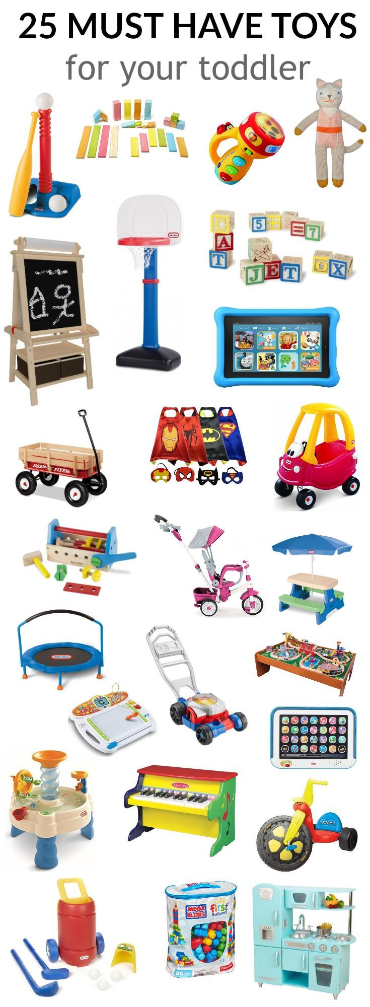 25 must have toddler toys | kids | toddler toys, toddler gifts, best